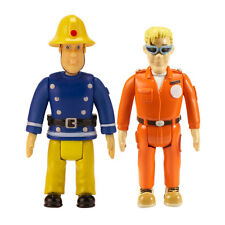 Fireman Sam - Sam and Tom with Glasses - 2 Figure Pack *BRAND NEW*