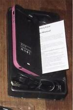 IPHONE 5/5S RECHARGEABLE EXTERNAL BATTERY CASE/USB CHARGER CORD~ 2500 mAh ~ PINK