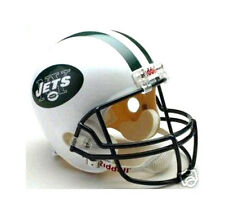 NEW YORK JETS NFL RIDDELL DELUXE REPLICA FULL SIZE FOOTBALL HELMET