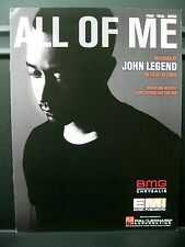 NEW & In Stock - John Legend ALL OF ME Piano Vocal Guitar Sheet Music