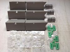48 x OO/HO GAUGE MODEL RAILWAY BUILDING ACCESSORIES/MATERIALS  48 PIECES
