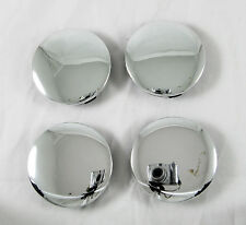 4 Pcs Set Universal Chrome Alloy Wheel Rims Center Centre Hub Caps 60/55 mm. New