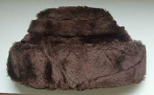 Vintage Retro 1960 Mens Hat faux fur