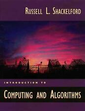 Introduction to Computing and Algorithms by Shackelford, Russel L