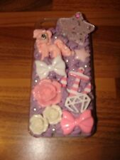Cutekawaii My Little Pony Purple/Pink Iphone 5/5S Cover New