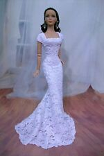 "'PURE WHITE"" Lace Gown for Kingdom Doll, Tonner Tyler, Antoinette & Friends"