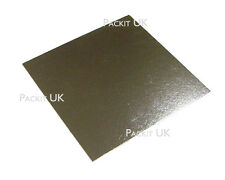 "20 x 16"" Inch Square Silver Cake Board 3mm DOUBLE THICK"