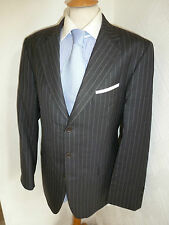 MENS CHARLES TYRWHITT GREY NEW WOOL AUTUMN FALL SUIT JACKET 40 WAIST 34 LEG 30