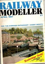 Railway Modeller Magazine - Apr 1987  Features GER Signal Hut drawing