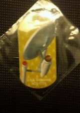 2014 SDCC COMIC CON STAR TREK U.S.S. ENTERPRISE PROMO PROMOTIONAL DOG TAG YELLOW