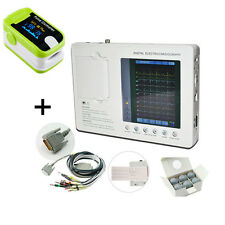 FAST12-lead 3-channel Electrocardiograph ECG/EKG Machine with interpretation CE