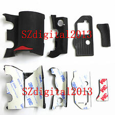 4 PCS NEW Digital Camera Body Rubber Shell For Nikon D300S Repair Parts + Tape
