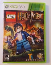 Xbox 360 Harry Potter Lego Years 5-7 Microsoft Game 2011