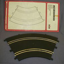 512B Polistil A9 Italy Courbe 60° Slot Voiture Circuit 1/32