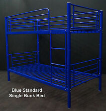 2 x BUNK BEDS SINGLE - BLUE