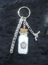 Supernatural TV themed key ring / bag charm