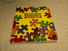 ESSENTIAL STATISTICS BY DAVID S. MOORE W/CD 2901429234466 Used