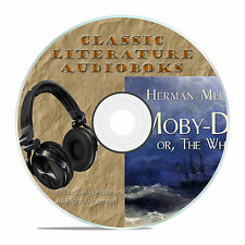 MOBY DICK, HERMAN MELVILLE CLASSIC CLASSIC AUDIOBOOK LITERATURE MP3 CD-A18