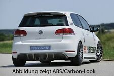 Rieger Heckeinsatz Diffusor R-Look für VW Golf 6 / NEU / RIEGER-Tuning