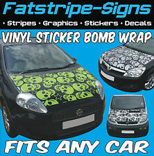 FORD KA VINYL STICKER BOMB BONNET WRAP CAR GRAPHICS DECALS STICKERS 1.2 1.6 2.0
