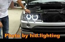 BMW Angel Eye Halo Light lamp Ring LED SMD kit White Headlight E53 X5 1999-2004