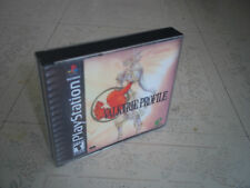 VALKYRIE PROFILE:PS1 NTSC CASE+INLAYS ONLY.NO GAME