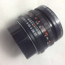 VIVITAR MC 50mm f/1.7 Lens for PENTAX PK Mount, Made by 凤凰, China