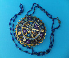Beautiful Colourful Sun Design Ladies Girls Summer Necklace Made in India