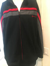 Rare Converse DWAYNE WADE No. 3 Zip Up Warm-Up Track Jacket Sz XL Miami! MINHAR