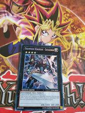 Carte Yu-Gi-Oh! Champion Héroïque - Excalibur CT09-FR002 Secrète Rare Française