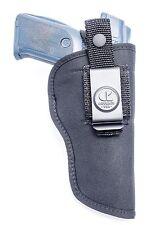 """Nylon IWB Inside & OWB Combo Holster for EAA Witness 4.75"""" 9mm, 10mm, .40, 45ACP"""