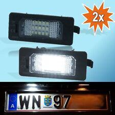 LED SET AUDI SEAT SKODA VW Kennzeichenbeleuchtung Kennzeichen Leuchte TÜV frei P