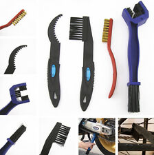 4x Universal Motorcycle Chain Gear Cycle Brake Oil Dirt Rust Cleaning Brush Tool