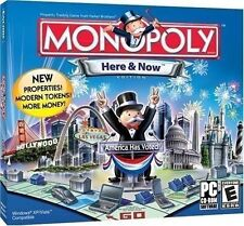 PC BOARD GAME MONOPOLY HERE & NOW BRAND NEW & FACTORY SEALED