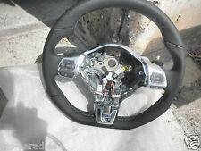 VW POLO 6r Blue GT sport volante in pelle Foro Volante in Pelle DSG 6r0419091p ASZ NUOVO