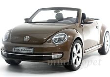 KYOSHO 08812TBR VW VOLKSWAGEN THE BEETLE CONVERTIBLE 1/18 TOFFEE BROWN METALLIC