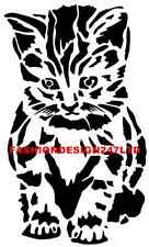 ANIMALS CAT MYLAR STENCIL CRAFT HOME DECORE PAINTING DIY WALL ART AIRBRUSH A4