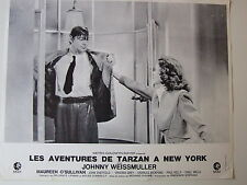 JOHNNY WEISSMULLER A LA DOUCHE PHOTO EXPLOITATION LOBBY CARD TARZAN A NEW-YORK