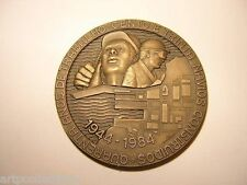 1984 MÉDAILLE CONSTRUCTIONS NAVALES NAVIRES SHIPS