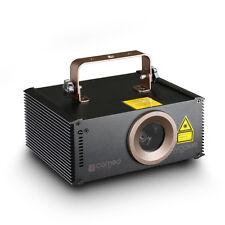 Cameo Wookie láser 600b Azul animación 600mw Iluminación DJ DISCOTECA DMX + Control Remoto Infrarrojo