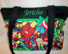 Marvel Avengers super hero spiderman superman tote bag duffle diaper bag purse
