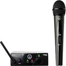 Genuine AKG WMS 40 Mini Vocal Set Handheld Wireless Microphone Sys w/ Warrenty