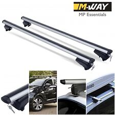 M-Way Lockable Aluminium Roof Rack Rail Bars for Ford Focus Station Wagon 2011