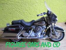 MOTO 1/18 HARLEY DAVIDSON 80 CU ELECTRA GLIDE FLH 1998 95 ANNIVERSARY
