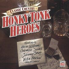 Time Life Classic Country: Honky Tonk Heroes Music Country CD Nelson Cash Owens