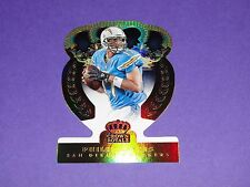 2014 Crown Royale PHILIP RIVERS #82 Gold Holofoil/25 San Diego CHARGERS NC State