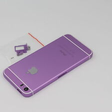 Custom Made iPhone 5s Replacement Housing Back Frame Cover Purple , White
