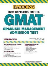 How to Prepare for the GMAT (Barron's How to Prepare for the Gmat Graduate Manag