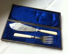 Vintage Silver Plate Fish Servers