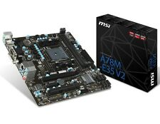 MSI A78M-E35 V2 FM2+ AMD A78 Micro ATX AMD Motherboard Refurbished Board On